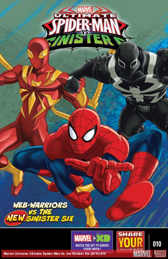Marvel Universe Ultimate Spider-Man Vs. the Sinister Six (2016) #10