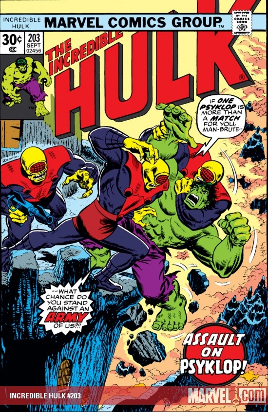 INCREDIBLE HULK (2010) #203 COVER