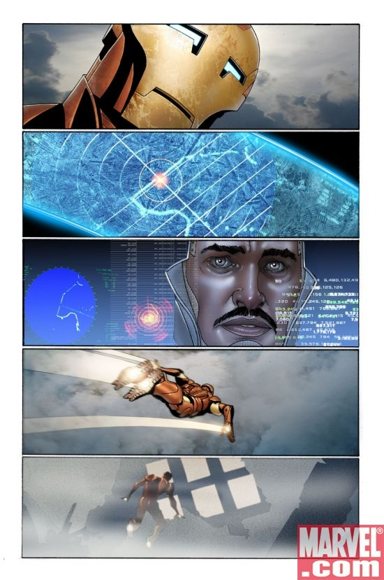 INVINCIBLE IRON MAN #3 Interior Art