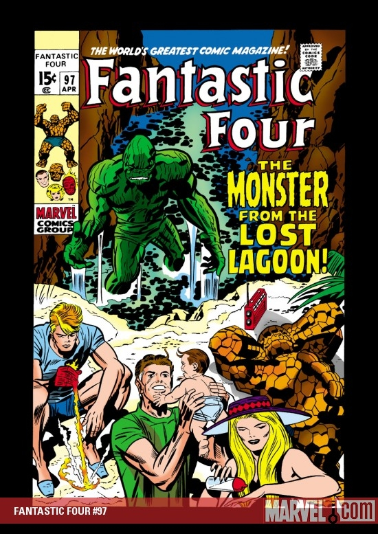 FANTASTIC FOUR #97