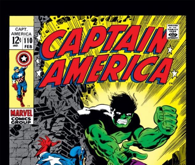 Captain America #110 cover