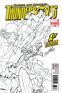 Thunderbolts (2006) #163 (2nd Printing Variant)