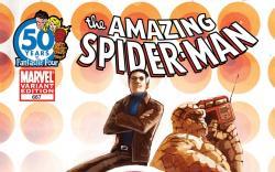 Amazing Spider-Man (1999) #667, FF Anniversary Variant - Int