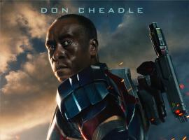Don Cheadles stars as James Rhodes/Iron Patriot in Marvel's Iron Man 3