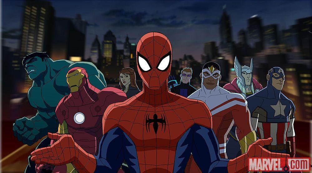 U Spiderman Ultimate Spider-Man