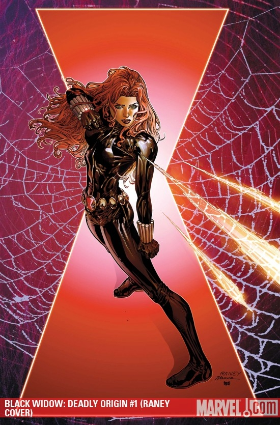 BLACK WIDOW: DEADLY ORIGIN #1 (RANEY COVER)