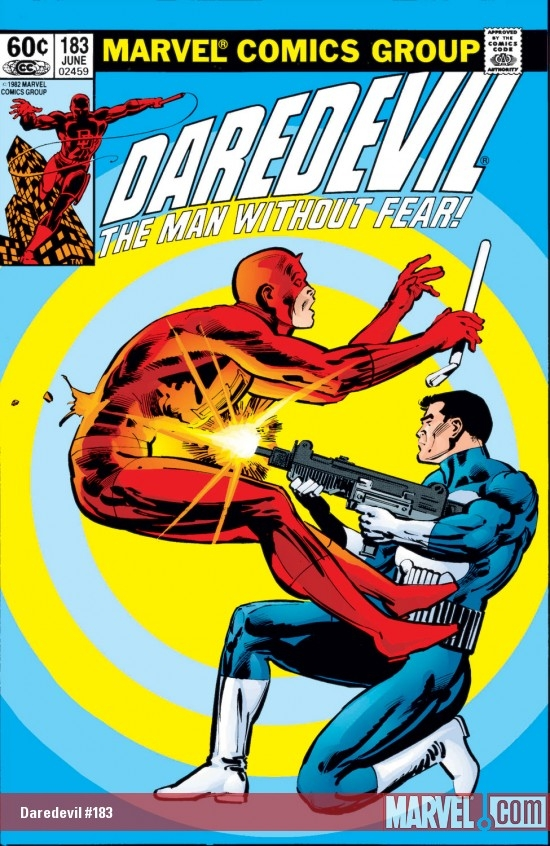 DAREDEVIL #183 COVER