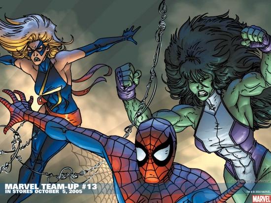 Marvel Team-Up (1972) #13 Wallpaper
