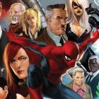Image Featuring Mary Jane Watson, Black Cat, J. Jonah Jameson, Harry Osborn, May Parker, Robbie Robertson, Spider-Man