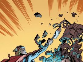 Thor: The Mighty Avenger #8 cover by Chris Samnee