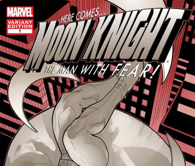 Moon Knight (2010) #7, Mc 50th Anniversary Variant