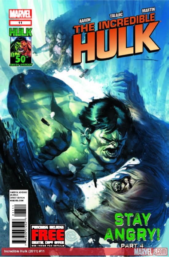 INCREDIBLE HULK 11 (WITH DIGITAL CODE)