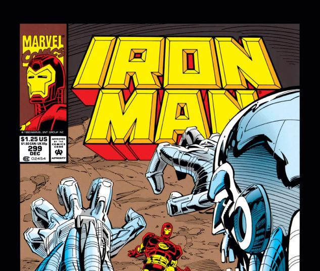 Iron Man (1968) #299 Cover