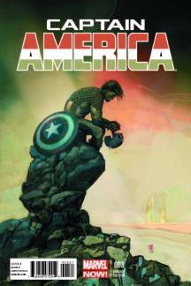 Captain America #3  (Maleev Variant)
