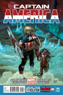 Captain America (2012) #2 (2nd Printing Variant)