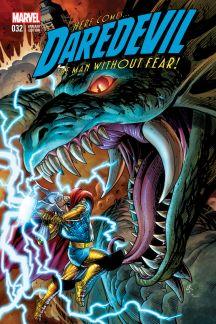 Daredevil #32  (Ross Thor Battle Variant)