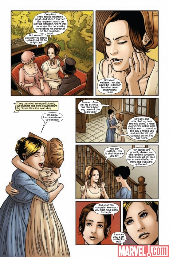 PRIDE AND PREJUDICE #5, page 2