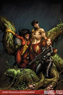 Secret Invasion (2008) #4 (MCNIVEN VARIANT)