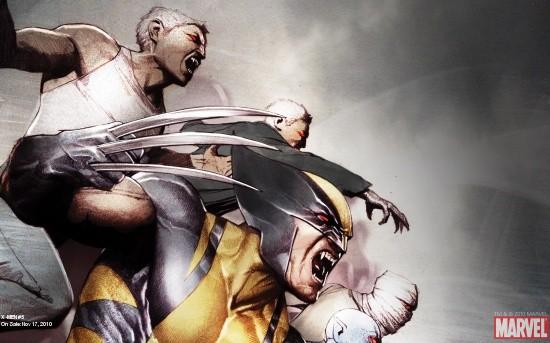 X-Men # 5 cover by Adi Granov