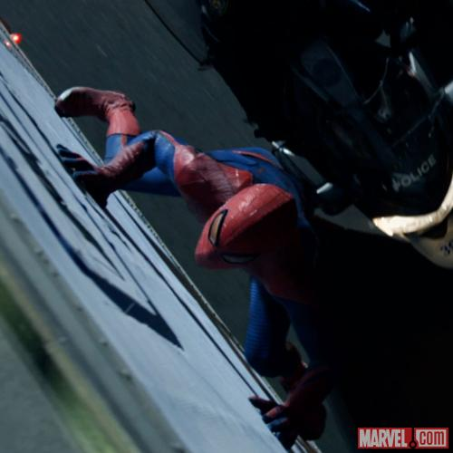 Screenshot from The Amazing Spider-Man