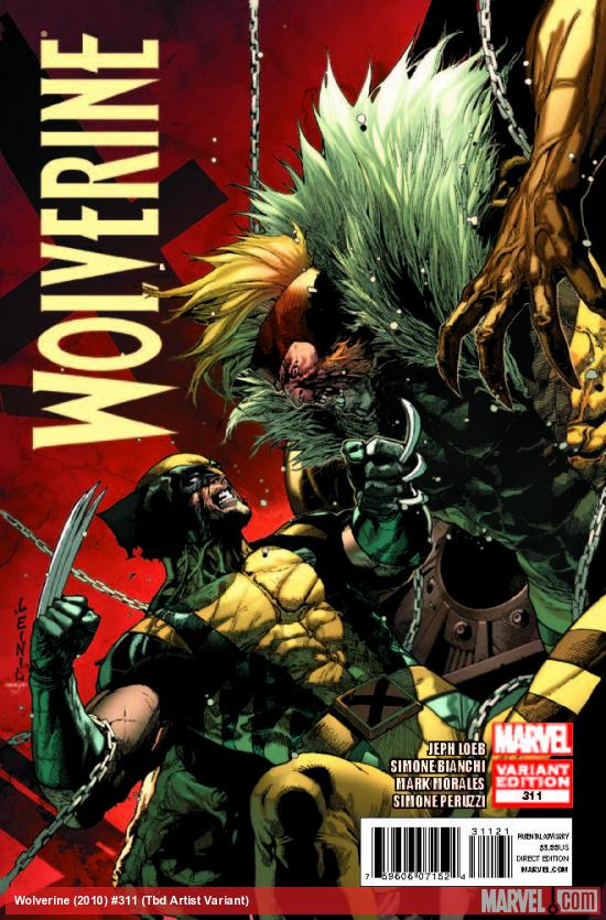 WOLVERINE 311 YU VARIANT (1 FOR 30, WITH DIGITAL CODE)