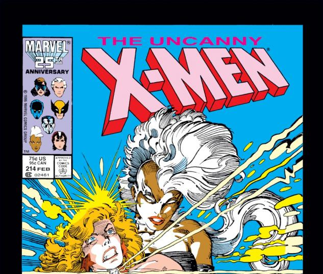 Uncanny X-Men (1963) #214 Cover