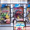 Marvel Secret Wars figures at the Hasbro showroom