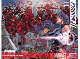 Psylocke (2009) #1 (2ND PRINTING VARIANT)