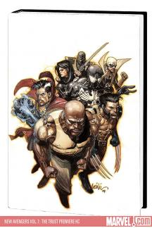 New Avengers Vol. 7: The Trust Premiere (Hardcover)