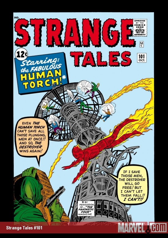 Strange Tales (1951) #101