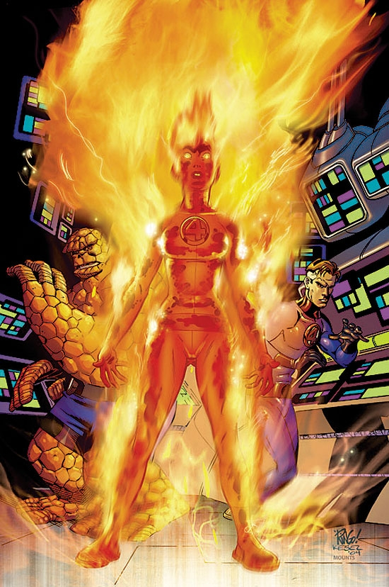 FANTASTIC FOUR (2006) #521 COVER
