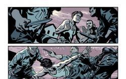 Captain America & Bucky #620 preview art by Chris Samnee