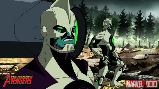 "The Kree on ""The Avengers: Earth's Mightiest Heroes"""