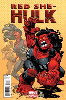 Red She-Hulk (2012) #61 (Williams Variant)