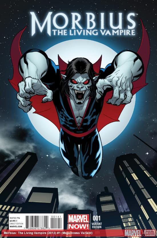 cover from Morbius: The Living Vampire (2013) #1 (TBD ARTIST VARIANT)