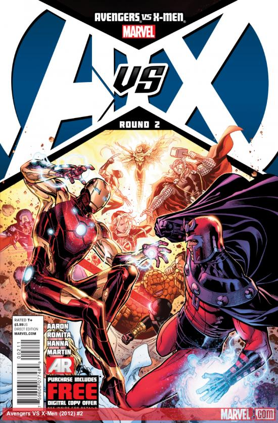 Cover: Avengers VS. X-Men Issue #2
