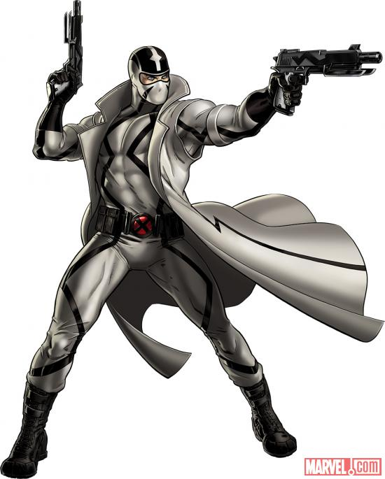 Fantomex character model in Marvel: Avengers Alliance