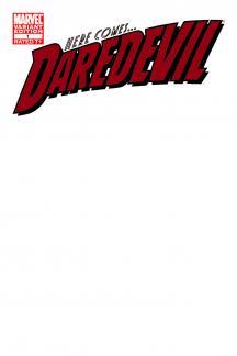 Daredevil (2011) #1 (Blank Cover Variant)