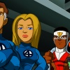 Fantastic Four, Falcon and H.E.R.B.I.E. from The Super Hero Squad Show