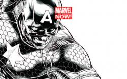 CAPTAIN AMERICA 1 QUESADA SKETCH VARIANT