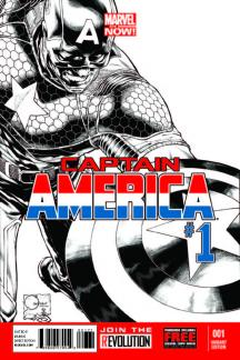 Captain America (2012) #1 (Quesada Sketch Variant)