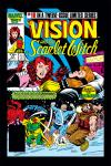 Vision and the Scarlet Witch (1985) #10 Cover