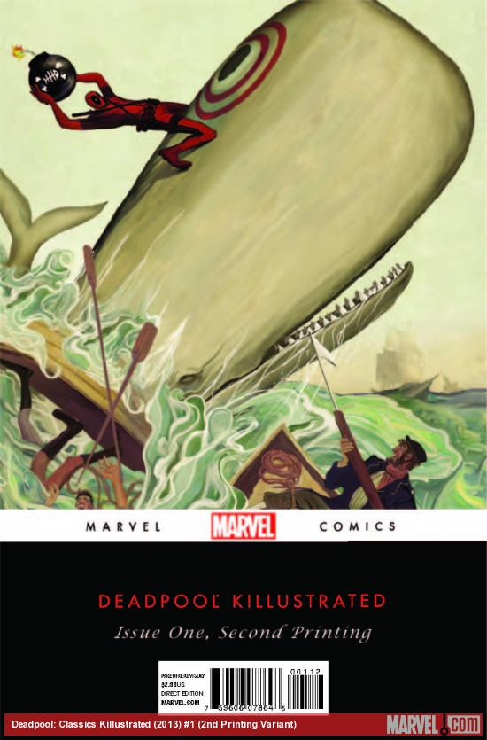 DEADPOOL KILLUSTRATED 1 2ND PRINTING VARIANT