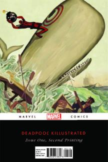 Deadpool: Classics Killustrated (2013) #1 (2nd Printing Variant)