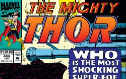 Thor (1966) #444 Cover