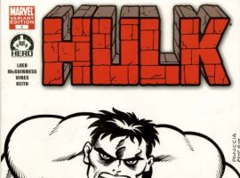 HULK #1 cover by Tom Brevoort