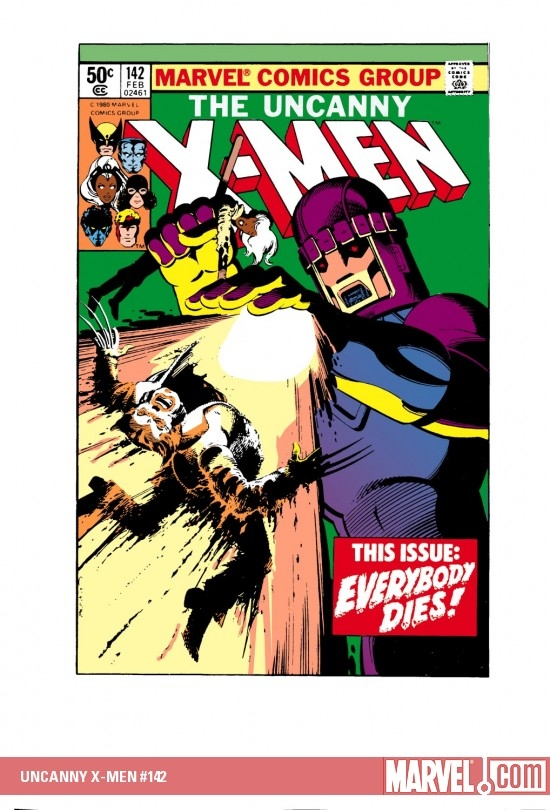 UNCANNY X-MEN #142