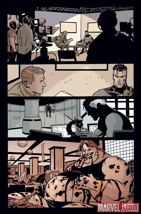 MARVEL UNIVERSE VS. THE PUNISHER #1 preview art by Goran Parlov 1