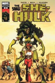She-Hulk (2005) #22 (Zombie Variant)