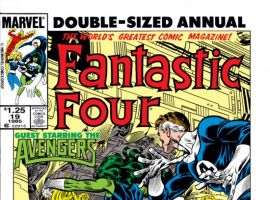 FANTASTIC FOUR ANNUAL #19 COVER